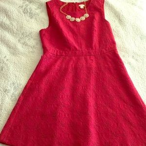 J Crew factory Red Dress